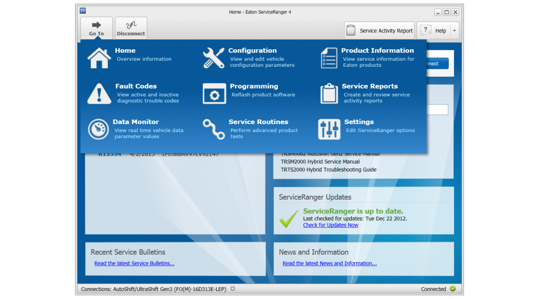 Eaton ServiceRanger 4.2.(12/2017) with Data files
