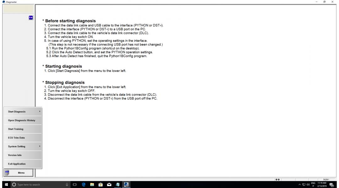 KUBOTA DIAGMASTER 4.2.2.4